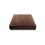 View Image 1 of Luca Traditional Rectangle Dog Bed - Chocolate