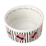 Lulu's Bones Dog Bowl
