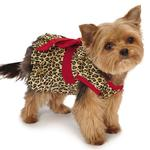 View Image 2 of M. Isaac Mizrahi Leopard Bow Dog Dress