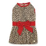 View Image 3 of M. Isaac Mizrahi Leopard Bow Dog Dress