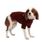 View Image 2 of Maddox Dog Sweater by Puppia - Wine