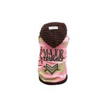 View Image 1 of Major Trouble Dog Hoodie by Hip Doggie - Pink Camo