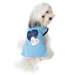 View Image 1 of Mama's Boy Dog T-Shirt by PetRageous - Blue