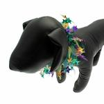Mardi Gras Star Party Dog Neck Scrunchy