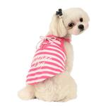View Image 1 of Marine Dog Shirt by Puppia - Pink
