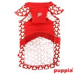 View Image 3 of Martina Dog Dress by Puppia - Red