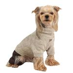 View Image 1 of Meek Dog Jumpsuit by Puppia - Beige