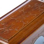 View Image 3 of Memorial Pet Urn Memory Box - Chestnut