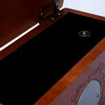 View Image 4 of Memorial Pet Urn Memory Box - Mahogany