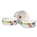 View Image 1 of Meow Flair Cat Bowl - Pink