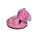View Image 2 of Mesh Dog Sandals - Pink