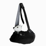 View Image 1 of Messenger Bag Carrier by Dogo - Black