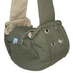 View Image 1 of Messenger Bag Carrier by Dogo - Green
