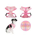 View Image 2 of Mezzo Dog Harness by Puppia - Pink