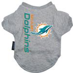 View Image 1 of Miami Dolphins Dog T-Shirt - Miami Dolphins