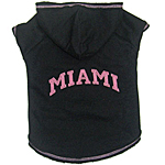 View Image 1 of Miami Dog Hoodie - Black