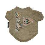 View Image 1 of Miami Marlins Dog T-Shirt