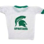 Michigan State Spartans Dog Jersey - White