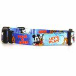 View Image 1 of Mickey Mouse and Pluto Dog Collar