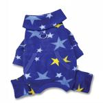 View Image 2 of Midnight Stars Turtleneck Fleece Dog Pajamas by Klippo