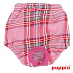 View Image 2 of Midtown Dog Sanitary Panty by Puppia - Pink
