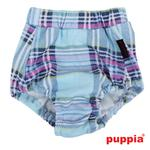 View Image 2 of Midtown Dog Sanitary Panty by Puppia - Sky Blue