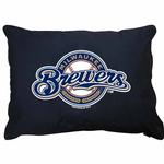 View Image 1 of Milwaukee Brewers Dog Bed