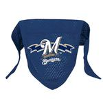 View Image 1 of Milwaukee Brewers Mesh Dog Bandana