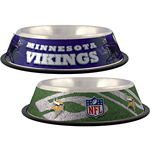 View Image 1 of Minnesota Vikings Dog Bowl