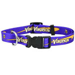 View Image 1 of Minnesota Vikings Dog Collar