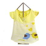 Miss Lovebird Dog Dress - Yellow