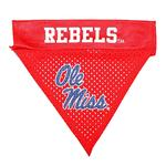 Mississippi Rebels Dog Bandana Collar Slider
