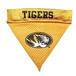 Missouri Tigers Dog Bandana Collar Slider
