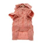View Image 2 of Mohair Cable Knit Sweater - Pink Honeysuckle