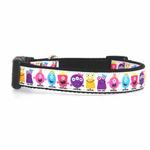 View Image 1 of Monsters Dog Collar - White