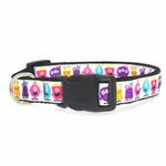 View Image 2 of Monsters Dog Collar - White