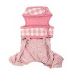 View Image 2 of Motley Dog Pants by Pinkaholic - Pink