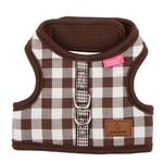 View Image 1 of Motley Pinka Dog Harness by Pinkaholic - Brown