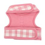 View Image 2 of Motley Pinka Dog Harness by Pinkaholic - Pink