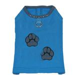 View Image 1 of Muscle Dog Shirt by Gooby - Blue