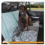 View Image 2 of Muted Floral Bench Seat Cover by Kurgo