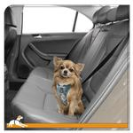 View Image 3 of Muted Floral Car Dog Harness by Kurgo