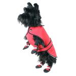 View Image 1 of Muttluks Belted Dog Coat - Red