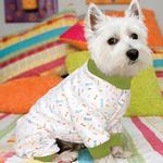 View Image 2 of My Favorite Jammies Dog Pajamas - Green