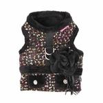 View Image 3 of Nadia Flirt Dog Harness by Pinkaholic - Black