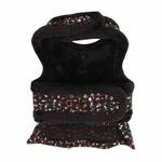 View Image 2 of Nadia Flirt Dog Harness by Pinkaholic - Black