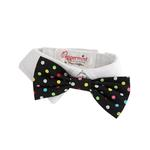View Image 1 of Nathan Polka Dot Dog Shirt Collar and BowTie