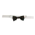 View Image 3 of Nathan Polka Dot Dog Shirt Collar and BowTie