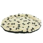 View Image 1 of Nature Nap Oval Pet Bed - Oatmeal Bone