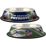 View Image 1 of New England Patriots Dog Bowl